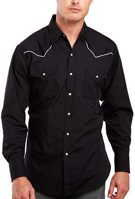 Ely Cattleman Pipe-Yoke Snap Shirt - Big & Tall