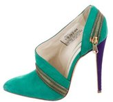 Brian Atwood Twist Zip Pumps