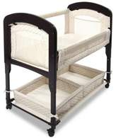 Arms Reach Arm's Reach® Cambria Wood Quilted Co-Sleeper® Without Skirt in Natural