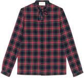 Gucci Tartan Cambridge shirt