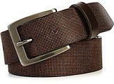 Johnston & Murphy Men's Perfed Casual Belt