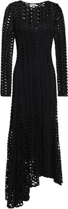 By Malene Birger Dry Desert Asymmetric Cutout Jersey Maxi Dress