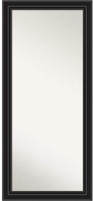 "Amanti Art Colonial Framed Floor/Leaner Full Length Mirror, 29.75"" x 65.75"""