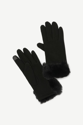 Ardene Faux Fur iPhone Gloves