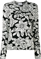Christian Wijnants floral-intarsia knitted sweater