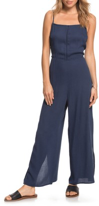 Roxy Feelings Catcher Open Back Jumpsuit