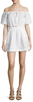 The Jetset Diaries Turismo Linen Mini Dress