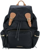 Burberry buckled backpack