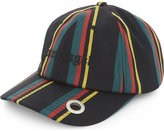 Palm Angels Ladies Printed Unique Striped Baseball Cap