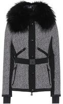 Moncler Fur-trimmed ski jacket