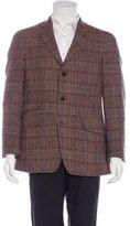 Etro Tweed Wool Plaid Sport Coat