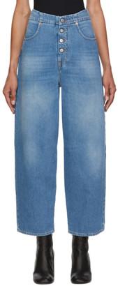 MM6 MAISON MARGIELA Blue 4-Button Jeans