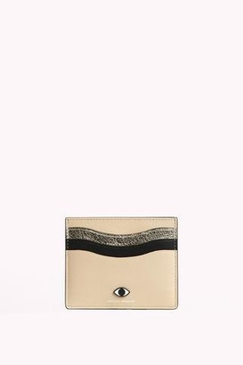 Rebecca Minkoff Large Card Case with Eye Stud