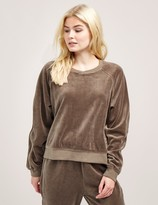 Juicy Couture Velour Zip Sweatshirt