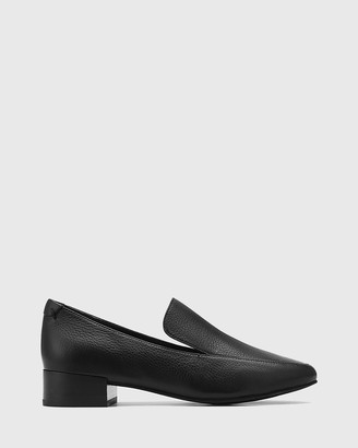 Wittner - Women's Black Loafers - Chia Leather Round Toe Loafers - Size One Size, 36 at The Iconic