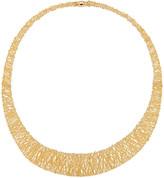 Milani Alberto Graduated Mesh Collar Necklace in 18K Gold