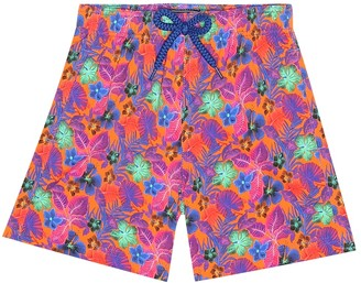 Vilebrequin Kids Jirise floral swim trunks