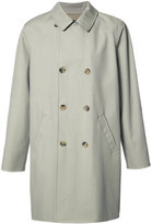 A.P.C. double-breasted loose coat - men - Cotton/Viscose/Virgin Wool - M