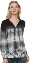 Rock & Republic Women's Tie-Dye Shirt