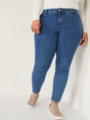 Old Navy High-Waisted Secret-Slim Pockets Rockstar Super Skinny Plus-Size Jeans