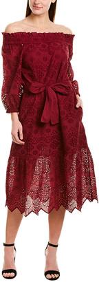 St. Roches Sarah Midi Dress