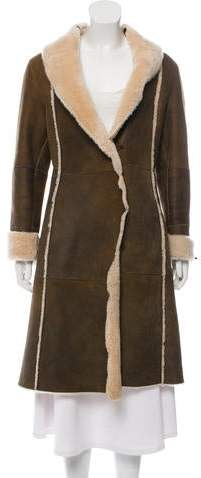 Andrew Marc Shearling Long Coat
