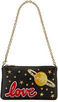 Dolce & Gabbana Saturn Love Mini Studded Shoulder Bag