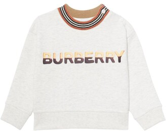 Burberry Kids Logo Print Sweatshirt (6-24 Months)