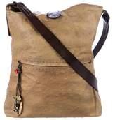 Henry Beguelin Ostrich Crossbody Bag