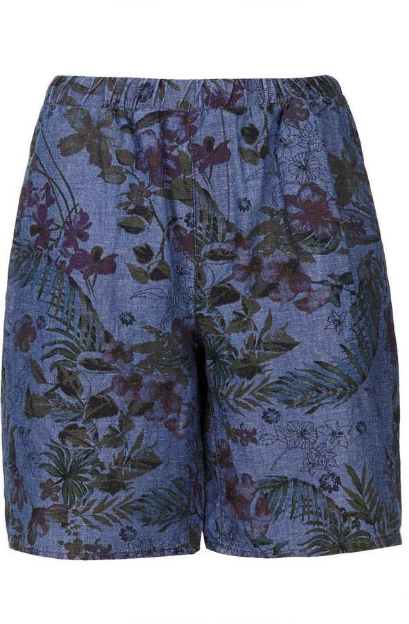 Topshop Moto bloom print culottes