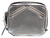 Alexander Wang Metallic Zip Clutch