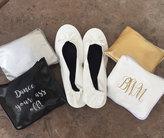 Etsy Foldable flats, Foldable ballet shoes, Wedding shoes, Bridesmaid Shoes, Bridesmaid gift, Wedding Fav