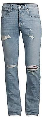 Hudson Jeans Men's Blake Slim-Fit Combine Distressed Jeans