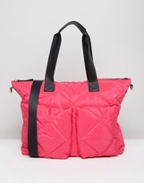 Asos LIFESTYLE Quilted Carryall