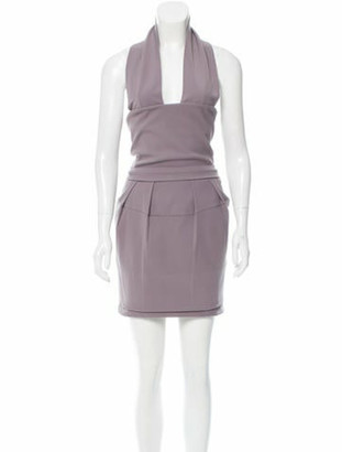 Preen by Thornton Bregazzi Preen Halter Knee-Length Dress w/ Tags Preen Halter Knee-Length Dress w/ Tags