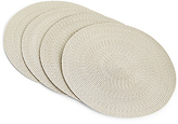 Marks and Spencer Set of 4 Space Dyed Woven Placemats