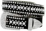 "Belts Ladies Western Rhinestone Bling Cowgirl Belt (Crystal, L(36""))"