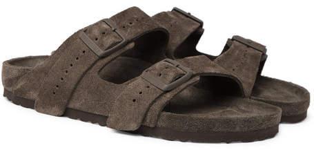 Rick Owens + Birkenstock Arizona Suede Sandals