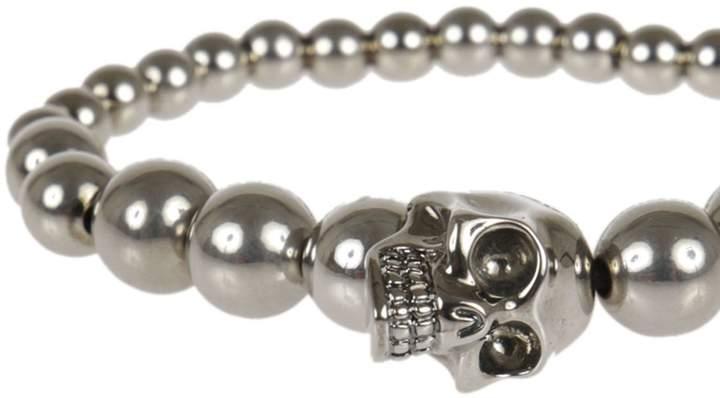 Alexander McQueen Skull Beaded Bracelet