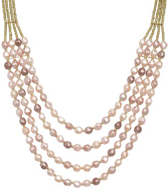 Isaac Mizrahi Live! Layers of Ombre Graduated Pearl Necklace