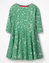 Boden Twirly Jersey Dress