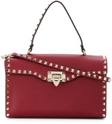 Valentino fold over shoulder bag - women - Calf Leather/metal - One Size