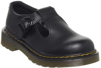 Dr. Martens Polley Mary Jane Junior Shoes Black