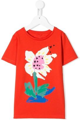 Stella Mccartney Kids floral print T-shirt