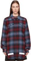 Off-White Red and Blue Check Shirt