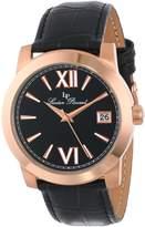 Lucien Piccard Women's LP-10026-RG-01-BK Bordeaux Analog Display Japanese Quartz Watch