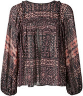 Ulla Johnson floaty printed blouse
