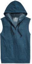 American Rag Men's Fleece Full-Zip Hoodie Vest, Only at Macy's