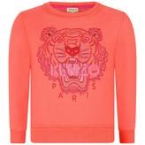 Kenzo KidsGirls Red Tiger Sweater