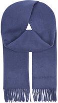 Burberry Plain cashmere scarf